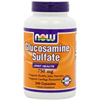 NOW Foods - glucosamina solfato (Superior sostegno congiunto) 750 mg. - 240 capsule