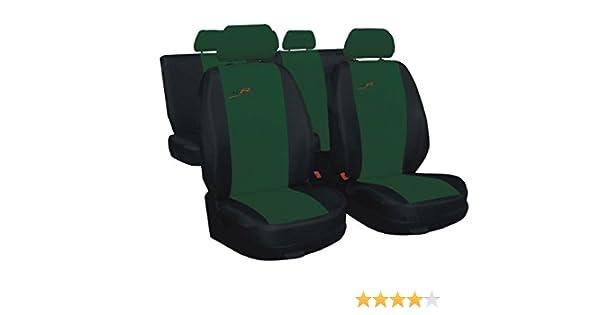 Skoda Rapid Grün Universal Sitzbezüge Sitzbezug Auto Schonbezüge XR