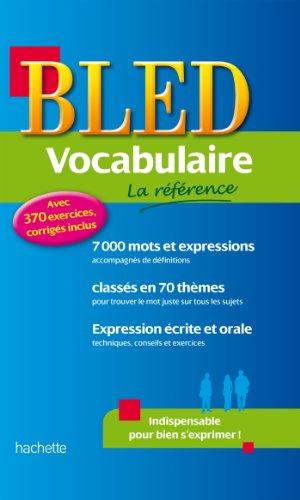 Bled Vocabulaire par Daniel Berlion