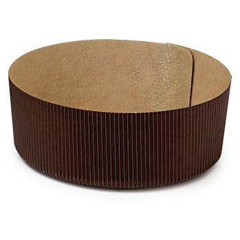 540 Einwegbackformen Papierbackformen Backform Papier rund Ø18,5cm 45mm hoch