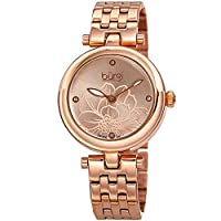 Burgi Casual Watch For Women Analog Stainless Steel - BUR223RG