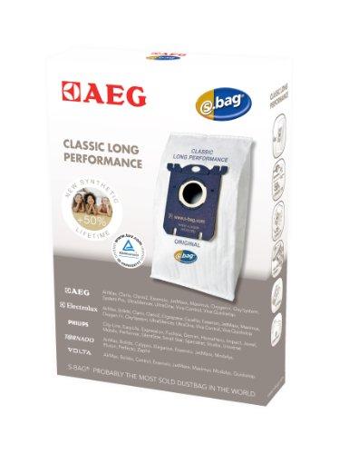 AEG Gr 201 s-bag, 4 Synthetik Staubsaugerbeutel