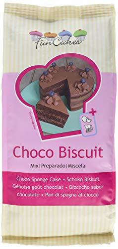 FunCakes Mix für Schoko Biskuit, 2er Pack (2 x 1000 g)