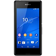 Sony Xperia E3 Smartphone (11,4 cm (4,5 Zoll) IPS-Display, 1,2 GHz-Quad-Core-Prozessor, 5 Megapixel-Kamera, Android 4.4) schwarz