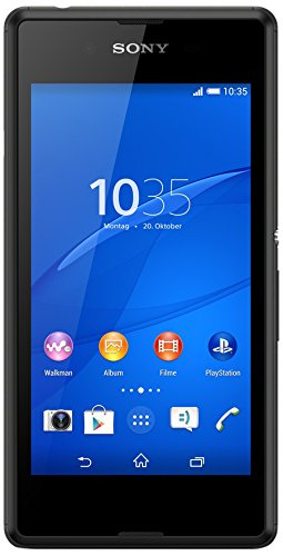 Image of Sony Xperia E3 Smartphone (11,4 cm (4,5 Zoll) IPS-Display, 1,2 GHz-Quad-Core-Prozessor, 5 Megapixel-Kamera, Android 4.4) schwarz