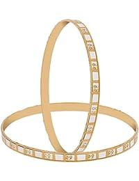 Zeneme Trendy Gold Plated Designer Bangles Jewellery For Women/Girl…