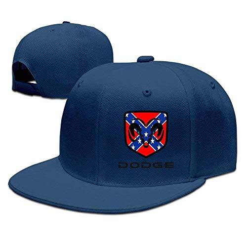 UUOnly Dodge Ram Logo-Hip-Hop-Mütze für Erwachsene (Bekleidung Rams)