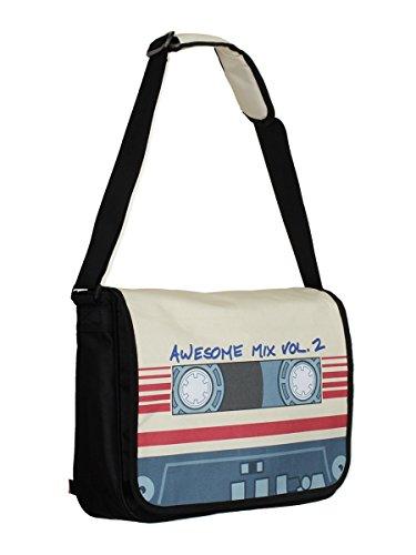Custodi del Galaxy tasca mix impressionante Vol Tape. 2 Marvel 37,5x29x11,5cm Nero