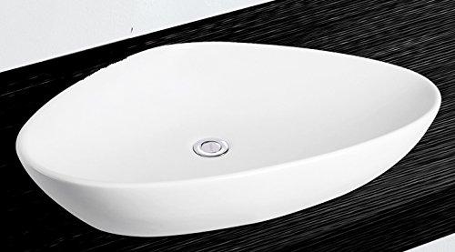 Grünblatt Waschbecken Aufsatz-Waschschale mit Lotus Effekt Nano-Beschichtung