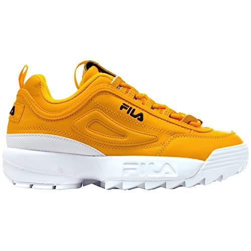 Zapatillas Fila amarillas mujer