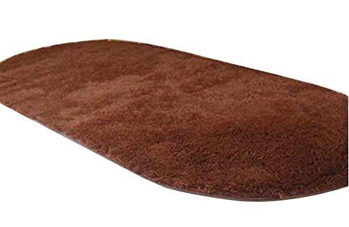 Alfombra Ovalada Ovalada, Suave y Cómoda, 80x160cm [E]