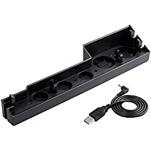 LESHP Ventilador de Refrigeración Súper Refrigerador Ventilador PS4 Turbo de Calor Exhauster para la Consola de Juegos PS4-Pro [Playstation 4]-Negro