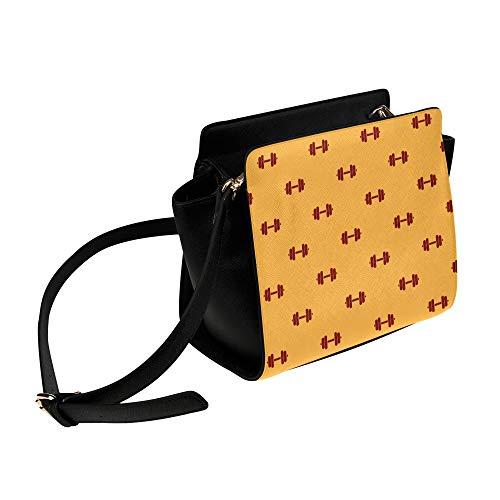 Rtosd Luxus Umhängetaschen Für Frauen Fitness Hantel Übung Umhängetasche Umhängetaschen Reisetaschen Seesack Umhängetaschen Gepäck Für Dame Mädchen Frauen Tasche Frauen Mode
