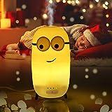 infinitoo Aroma Diffuser | 150ml Ultra Leise Diffuser Ultraschall Vernebler | LED Mini-Capsule Nachtlicht Duftlampe | Öle Diffusor Aromatherapie Luftbefeuchter für Kinderzimmer Schlafzimmer Zuhause