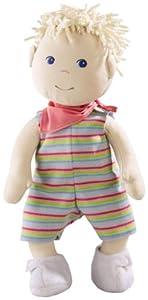 Haba 3660 Luca - Muñeco de bebé blando (40 cm) de Haba