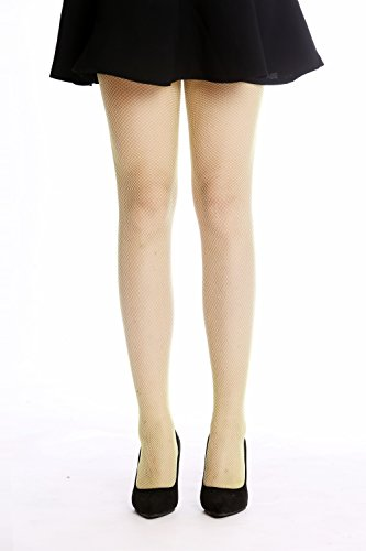 Dress me up - w-020b-giallo rete-calzamaglia a rete collant costume donna party carnevale halloween giallo s/m