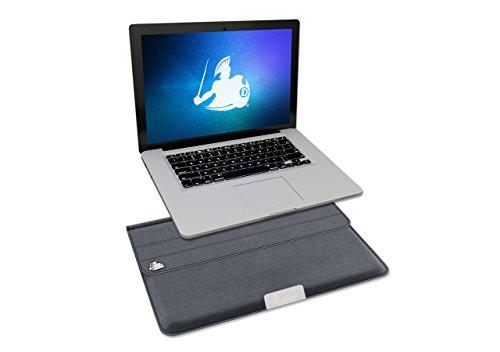 DefenderShield Laptop EMF Strahlung Sicherheit & Schutz Sleeve-Notebook Computer Cover für bis zu 38,1cm Laptop, Ultrabook, Chromebook, MacBook