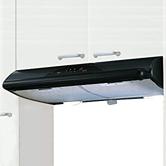 41mTADdYtIL. SS324  - Mepamsa Mito Jet 60 Campana aspirante decorativa de pared, color negro, 40 W, 40 Decibelios, 2 Velocidades