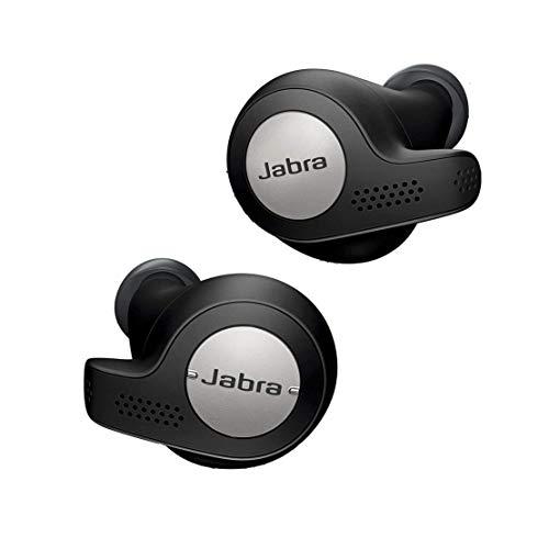 Jabra Elite Active 65t - Auriculares inalámbricos para deporte (Bluetooth 5.0, True Wireless) con Alexa integrada, Negro y Titanio