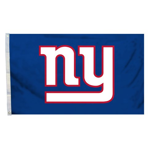 Fremont Die NFL Logo Flagge mit Tüllen, 3 x 5-Foot, New York Giants
