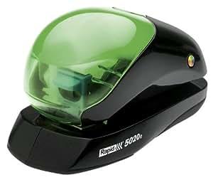 Rapid 23290711Plat Agrafeuse électrique 5020e avec laser, 20blatt, noir/vert