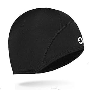 40edf9d23d8 Empirelion Thermal Running Hats Cover Ears Skull Cap Cycling Helmet ...