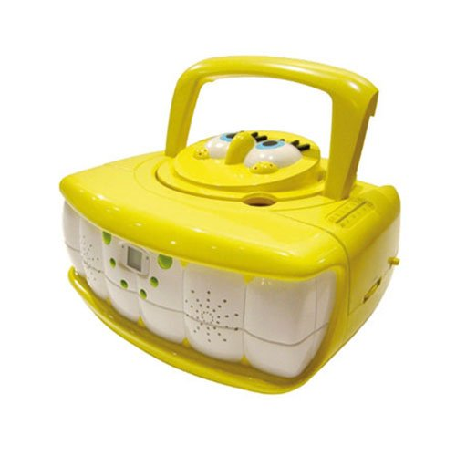 Spongebob Square Pants EBS001Z Portable CD Boombox