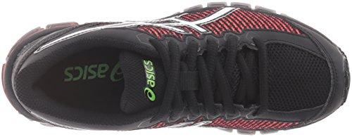 Asics Gel-Quantum 360 CM GS Synthetik Laufschuh Black/White/Green Gecko