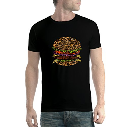 rger Cheat Mahlzeit Herren T-Shirt Schwarz XL (Cheats Und)