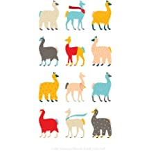 """Cute LLamas Blank Book Journal: 100 pages, 6 x 9"""", lined"""