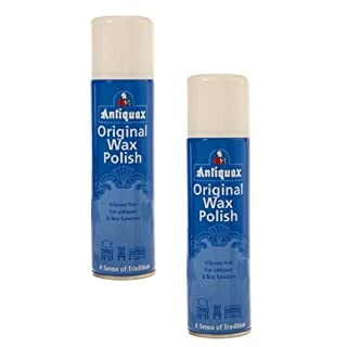 2 x Cans Of Antiquax - Original Wax polish Spray - 250ML