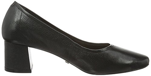 Buffalo London Damen Zs 6632-16 Soft Tumbled Pumps Schwarz (Black 01)