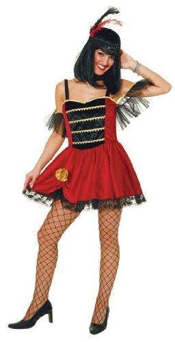 Kleid: Miss Colorado, Western-Kostüm , Erwachsenen-Größe:36
