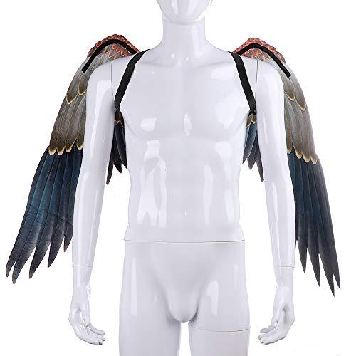 BaronHong Halloween Karneval Kostüm Cosplay Eagle Wings für Erwachsene (Adler, M)