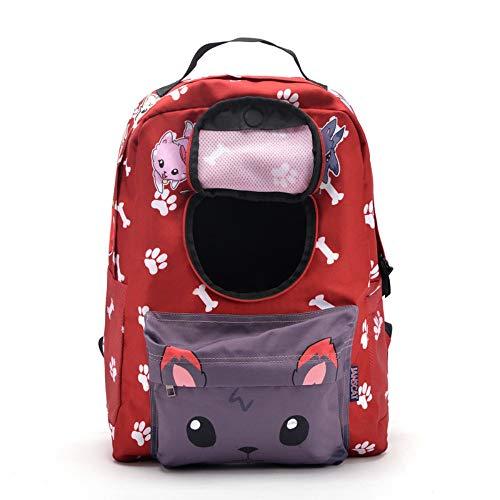 yiopk Katzentasche Hundetasche Haustier Schultern aus Tragetasche Katze Hund Rucksack Tasche Brusttasche Hund Katze Tasche