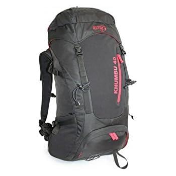 Altus Khumbu 40 - Mochila, Unisex, Color Negro/Rojo, Talla única