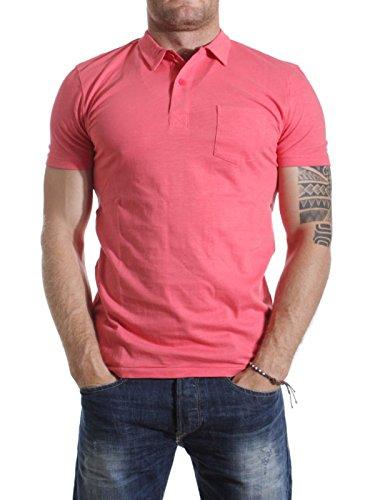 BLEND 4931-10 Herren Poloshirt Kurzarm Shirt Rosa