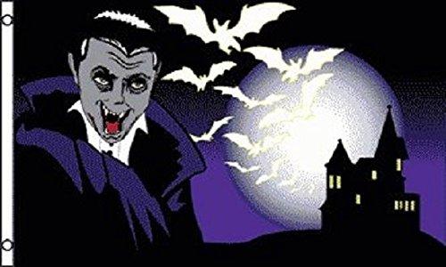 Home Comforts 3x5 Vampire Count Dracula Halloween Flag segunda mano  Se entrega en toda España
