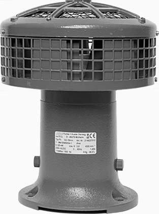 FHF Funke + Huster–Sirene von Motor 2149237010230V AC/DC Motor Irene