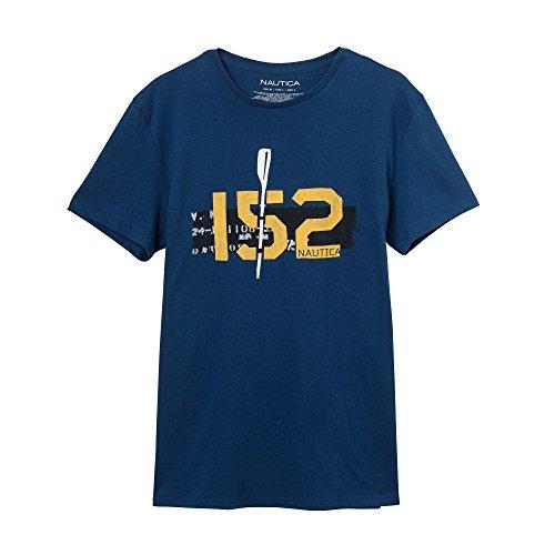 Nautica Herren T-Shirt Blau (estate blue)
