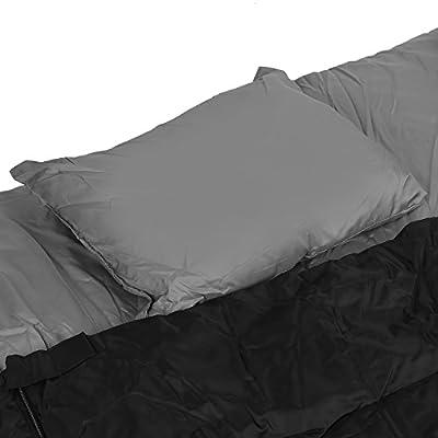 Rectangular Double Sleeping Bag Folding Waterproof Beach Air Bed Outdoor Backpacking Camping Hiking Laybag With Pillows Rectangular Double Sleeping Bag Air Bed Outdoor Backpacking Camping Laybag - cheap UK light store.