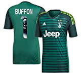Player Print - adidas Performance Juventus Home TW Trikot 2018 2019 + Buffon 1 (Gallery Style) - S