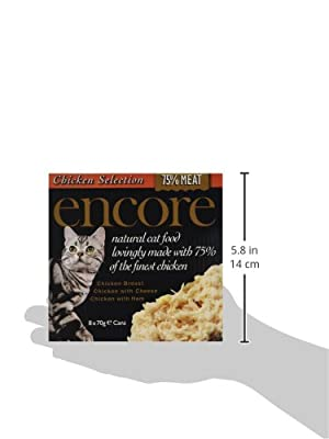 Encore Cat Food Tins 70 g (pack of 18)