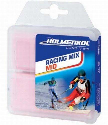 Holmenkol Ski-Langlauf-Wax Racing Mix Mid 2 * 35 g rot