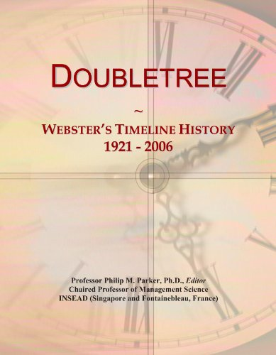 doubletree-websters-timeline-history-1921-2006