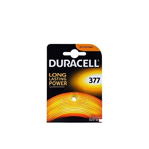 Pile-bouton Duracell SR626SW (1 unité sous blister)