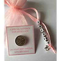 Personalised Lucky Birthday Sixpence Gift - 1st,13th, 16th 18th, 21st, 30th, 40th, 50th