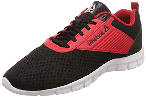 Reebok Men's Future Stride Run Black/Magma Shoes-8 UK/India (42 EU)(9 US) (DV8403)