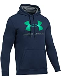 Under Armour 1302294, Sudadera con Capucha Para Hombre, Azul (Midnight Navy), L
