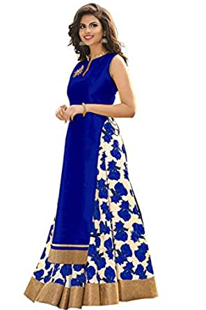 Shsarees Women's Salwar Suit Dress Material (SHS-1003_Blue)